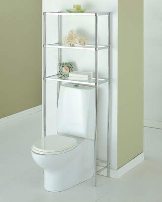 Neu Home Storage Neu Home Bathroom Space Saver With Glass Shelves