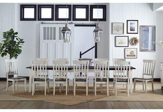 Beachcrest Home Tamiami 13 Piece Solid Wood Dining Set