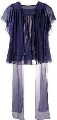Sofie D'hoore Brava ruffle trim blouse