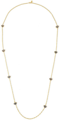 Amrapali 18-karat Gold, Diamond And Labradorite Necklace