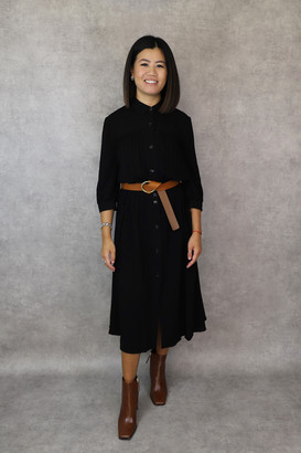 Sessun Jeanneton Dress - XS | viscose | black - Black/Black