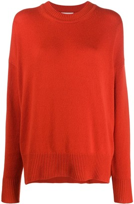 Jil Sander Crew Neck Knitted Jumper