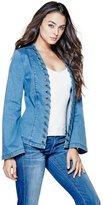 GUESS Bell-Sleeve Denim Jacket