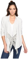 BB Dakota Santal Slub French Terry Cardigan Women's Sweater