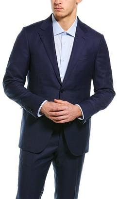 Ermenegildo Zegna 2Pc Wool Suit With Flat Front Pant