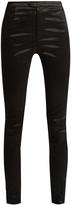 Isabel Marant Nevada high-shine skinny trousers