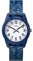 Timex Boys TW7C12000 Time Machines Elastic Fabric Strap Watch