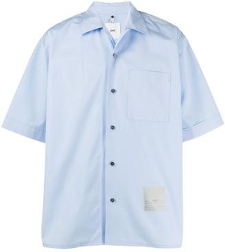 Oamc Boxy-Fit Short-Sleeve Shirt