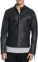 Levi's Racer Night Watch Leather Moto Jacket