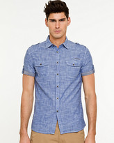 Le Château Chambray Skinny Fit Shirt