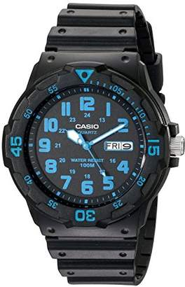 Casio Unisex MRW200H-2BV Neo-Display Watch with Resin Band