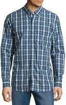 Tommy Bahama Men's Tudo Check Cotton Casual Button-Down Shirt