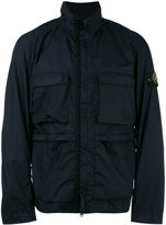 Stone Island roll neck zip up jacket - men - Polyamide/Polyurethane Resin - XXL