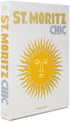 """Assouline """"St. Moritz Chic"""" Book"""