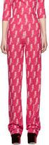 Miu Miu Pink Parrot Trousers