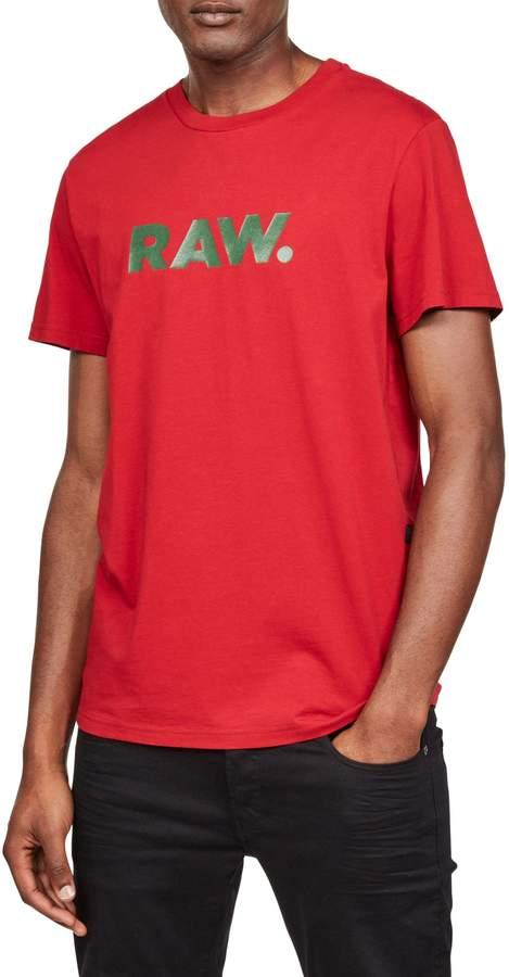 G Star Raw Short Sleeve Graphic Tee
