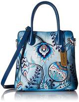 Anuschka Medium Expandable Convertible Tote Bewitching Blues