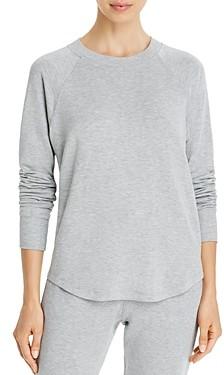 Splits59 Warm Up Curved Hem Sweatshirt