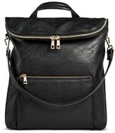 DV Women's Faux Leather dv Flap Top Backpack Handbag