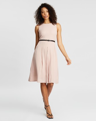 Forcast Silvia Belted Dress