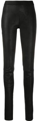 Ann Demeulemeester High-Rise Skinny Trousers