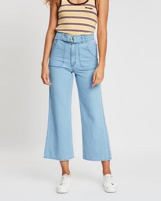Wrangler Hi Bells Cropped Jeans