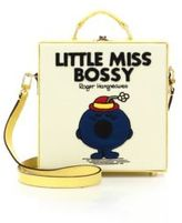 Olympia Le-Tan Little Miss Bossy Embroidered Shoulder Bag