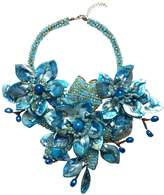Ananda Handcrafted Floral Necklace