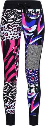 Versace Printed Stretch Leggings