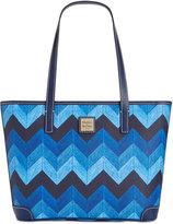 Dooney & Bourke Denim Chevron Charleston Shopper, A Macy's Exclusive Style