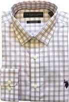 U.S. Polo Assn. Men's Wrinkle-Resistant Check Dress Shirt