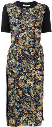 Tory Burch All-Over Print Knit Dress
