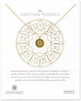 Dogeared Gratitude Mandala Necklace, 14