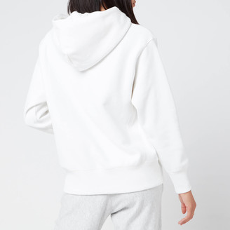 Champion Women's Small Script Hooded Sweatshirt
