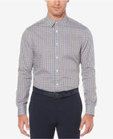 Perry Ellis Men's Checked Dobby Shirt