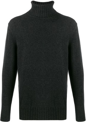 N.Peal chunky roll-neck jumper
