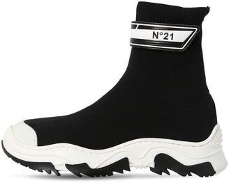 N°21 Knit Sock Sneakers
