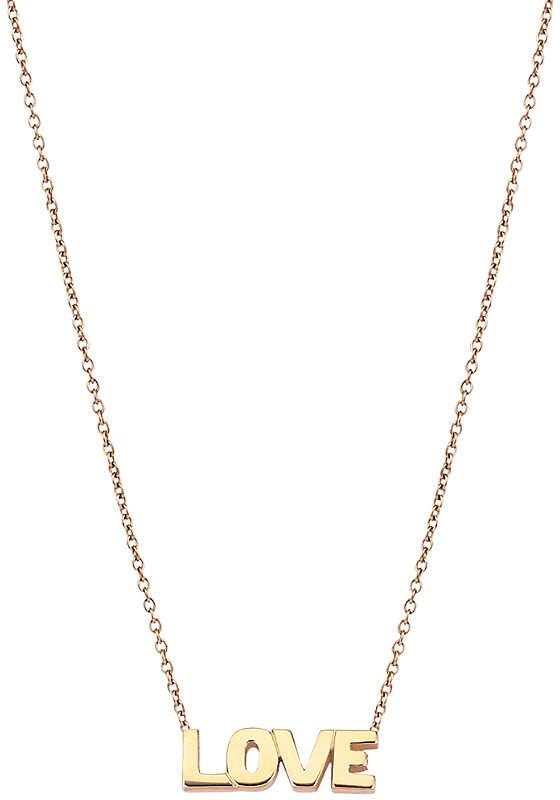 Rosegold The Alkemistry Kismet by Milka Love 14ct rose-gold necklace