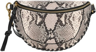 Isabel Marant Skano Animal Print Belt Bag