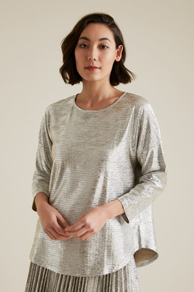 Seed Heritage Crushed Metallic Top