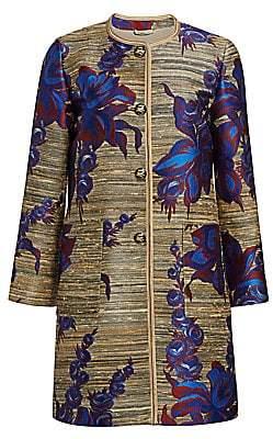 Etro Women's Jacquard Floral Coat
