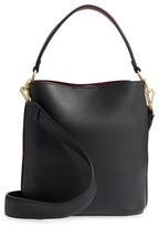 Sam Edelman Small Nya Faux Leather Bucket Bag - Black