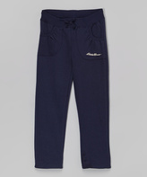 Eddie Bauer Navy Sweatpants - Toddler & Girls