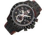 Seiko SPC141P1 Quartz - Wristwatch men's, Leather, Band Colour: Black