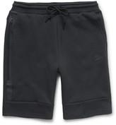 Nike - Mesh-print Tech Fleece Shorts