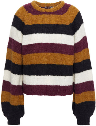 Joie Izzie Striped Knitted Sweater