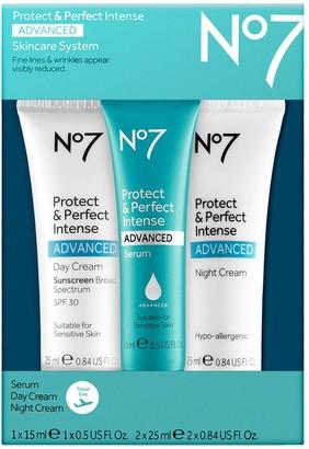 No7 Protect & Perfect Intense Advanced Travel Set