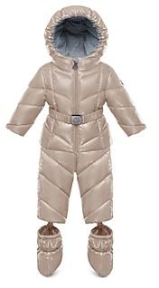 Moncler Unisex Lerie Snowsuit & Booties Set - Baby, Little Kid