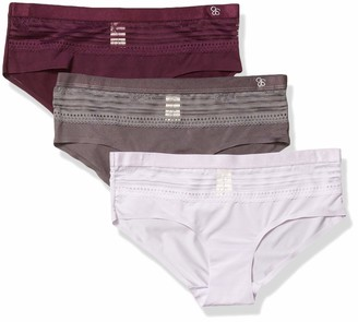 Jessica Simpson Women's Seemless No Show Hipster Panties Underwear Multi-Pack