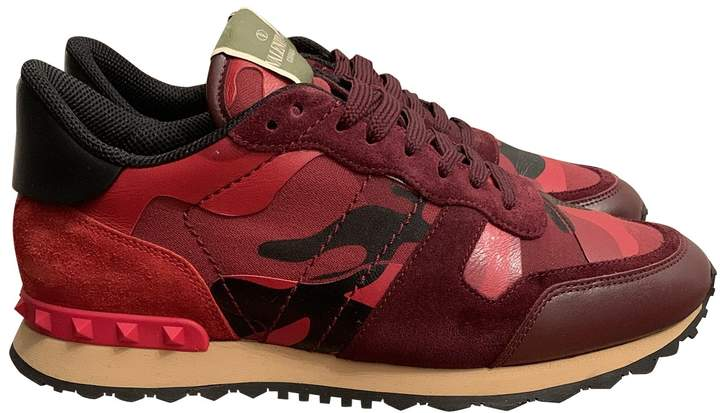 Valentino Rockrunner Red Leather